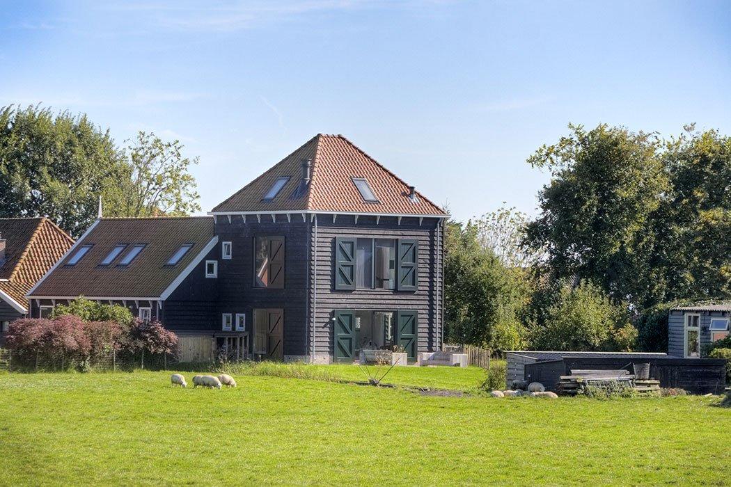 Voorbeeld woning 43 freco huis - Model van huisarchitectuur ...